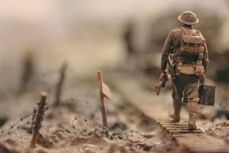 Soldier Moving