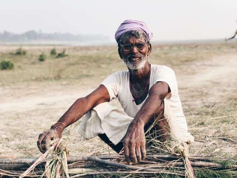 Old Man Sitting